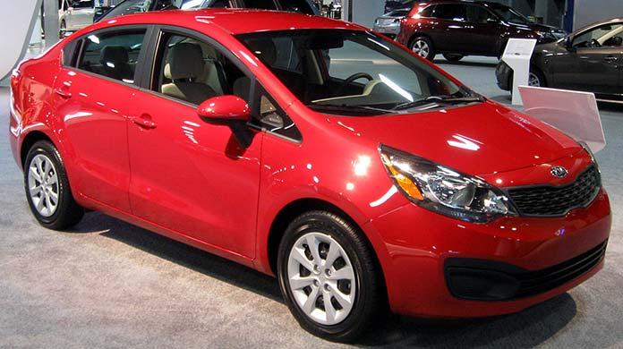Kia Rio 4D 2012 Model