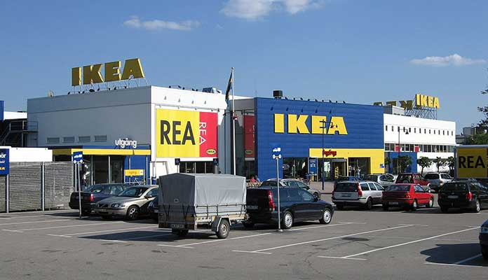 IKEA First Store In Sweden, Europe