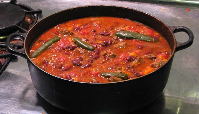 A Pot of Chili