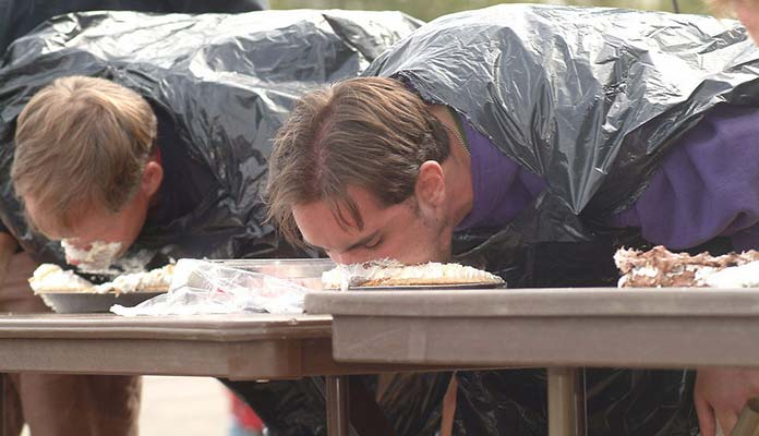 Competitive Pie Eating