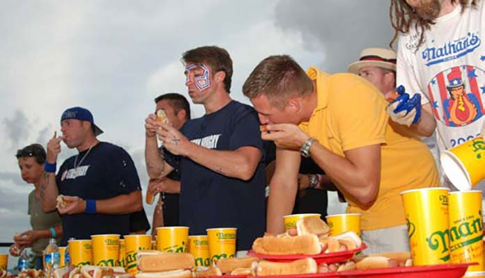 Hot Dog Eating Competition