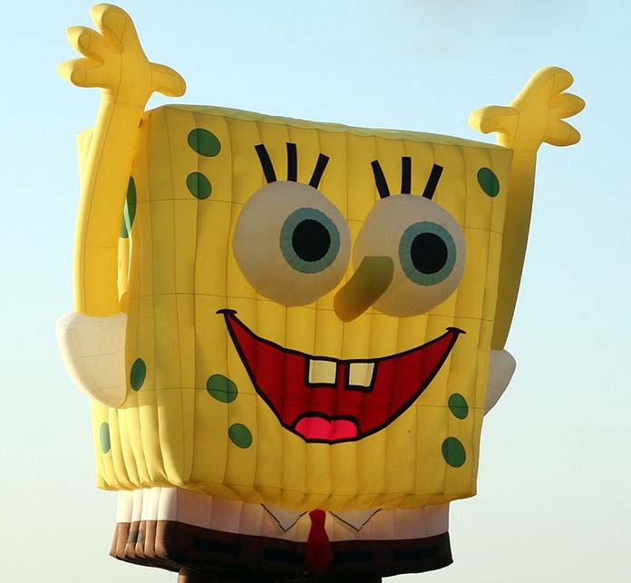 Fear of yellow, Spongebob Squarepants