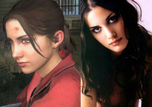 Left: Zoey from Left 4 Dead - Right: Sonja Kinski