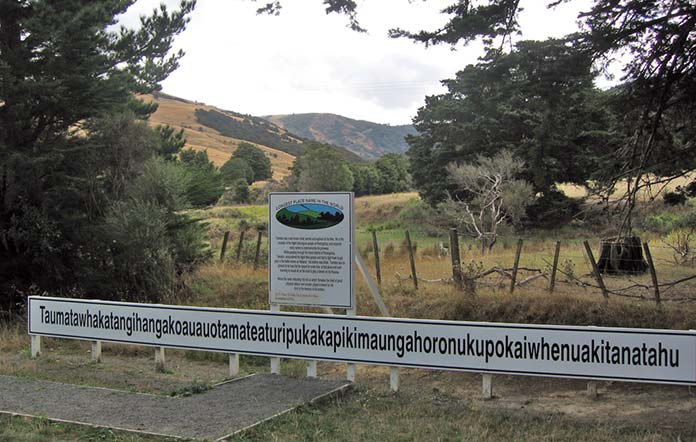 Taumata, the weirdest of all place names