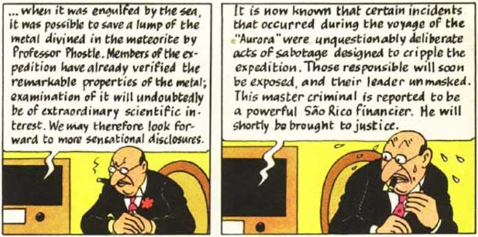 The adventures of Tintin - Racist Scene